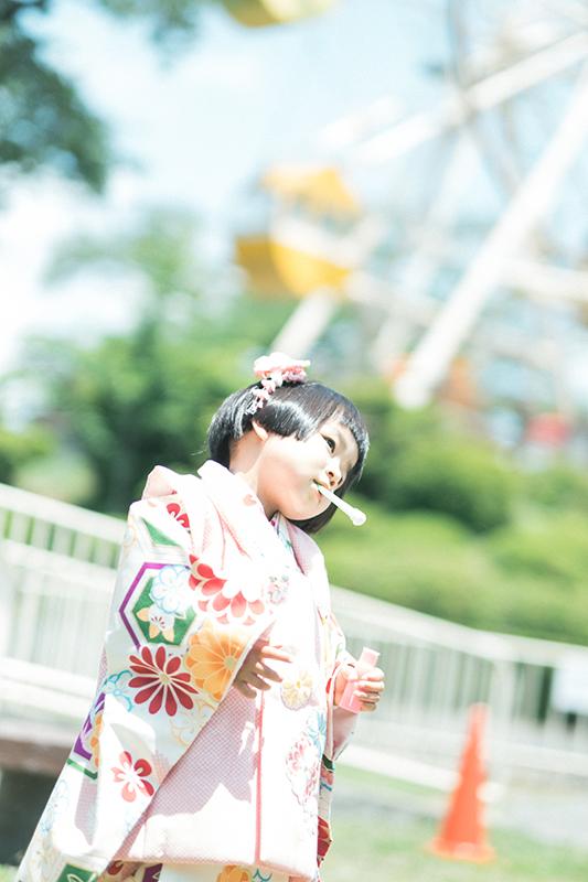 鹿沼千手山公園出張撮影、七五三!りほちゃん!