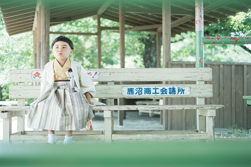 鹿沼千手山公園出張撮影、七五三!さくくん!