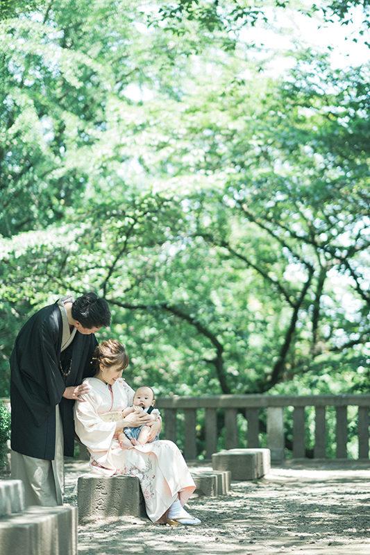 宇都宮二荒山神社、お宮参り出張撮影!ゆうくん、家族写真
