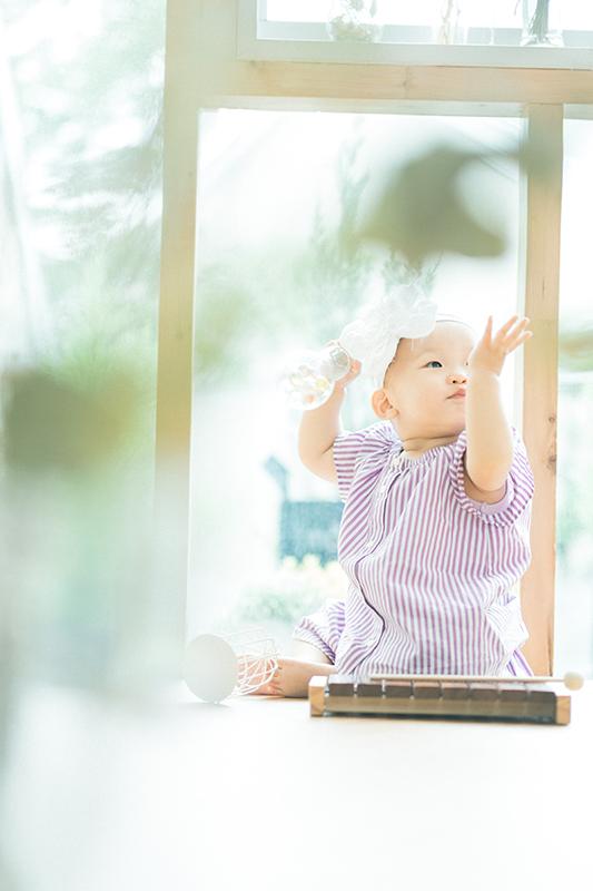 1歳バースデーフォト、このかちゃん!