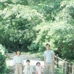 鹿沼、千手山公園、3歳、5歳七五三、家族写真