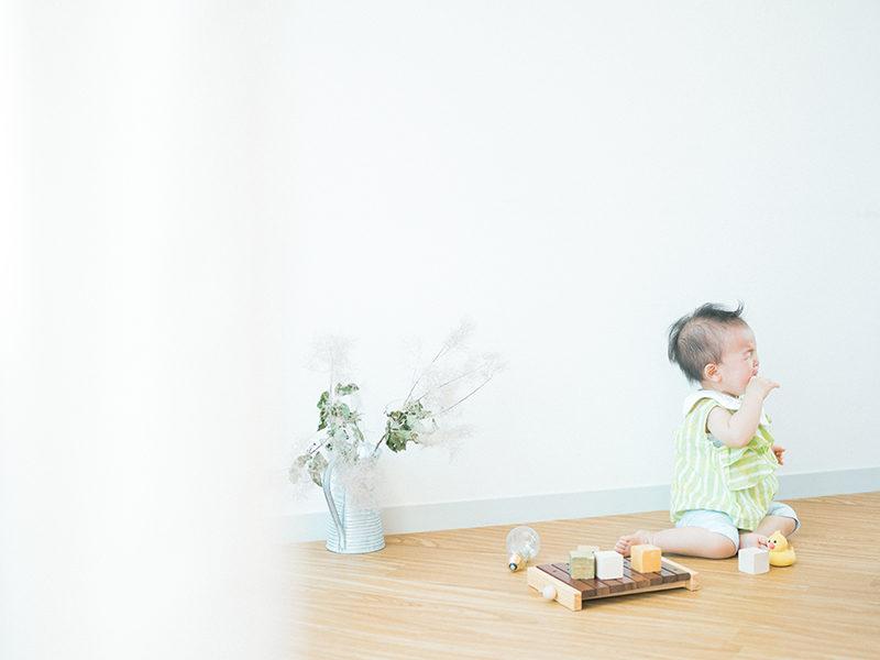 1歳バースデーフォト、さとこちゃん!泣き顔
