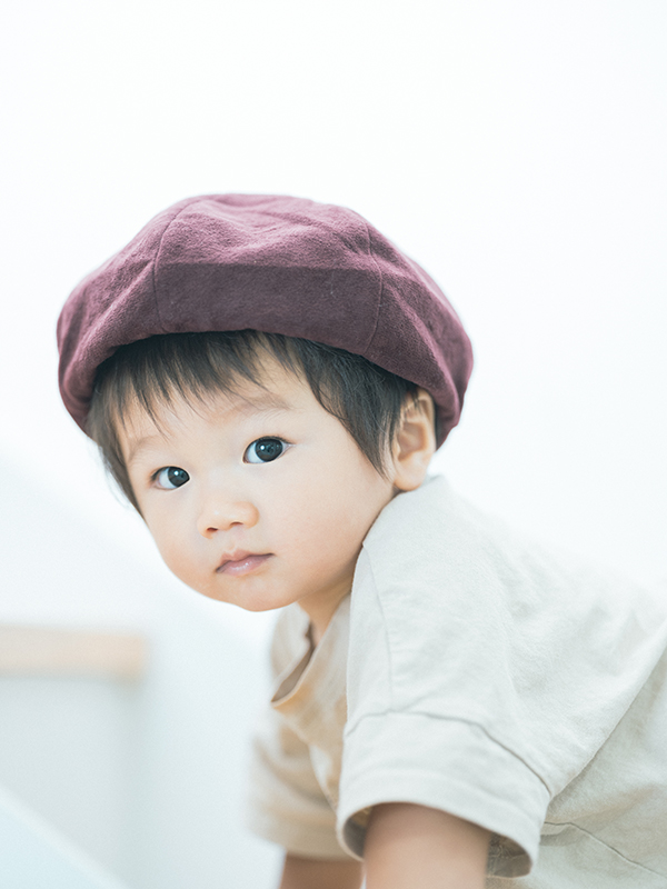1歳バースデーフォト、ゆづるくん!