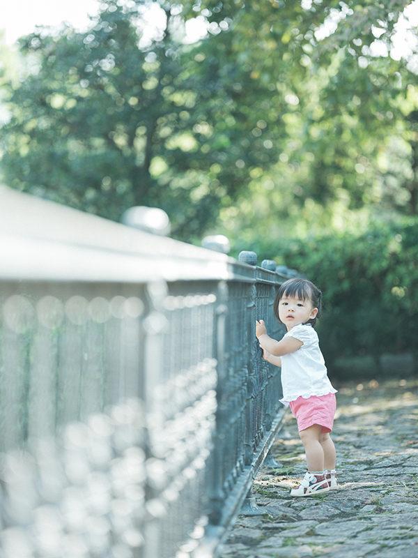 1歳バースデーフォト、はるちゃん!栃木県中央公園ロケ撮影