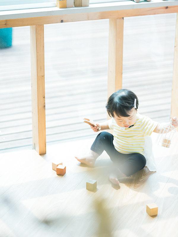 1歳バースデーフォト、しおりちゃん!