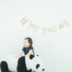 1歳バースデーフォト