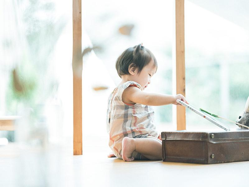 1歳バースデーフォト、すずえちゃん!