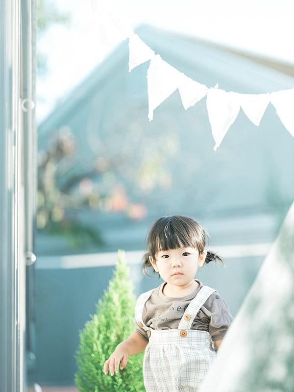 2歳、バースデーフォト、つむぎちゃん!