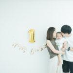 バースデーフォト、家族写真