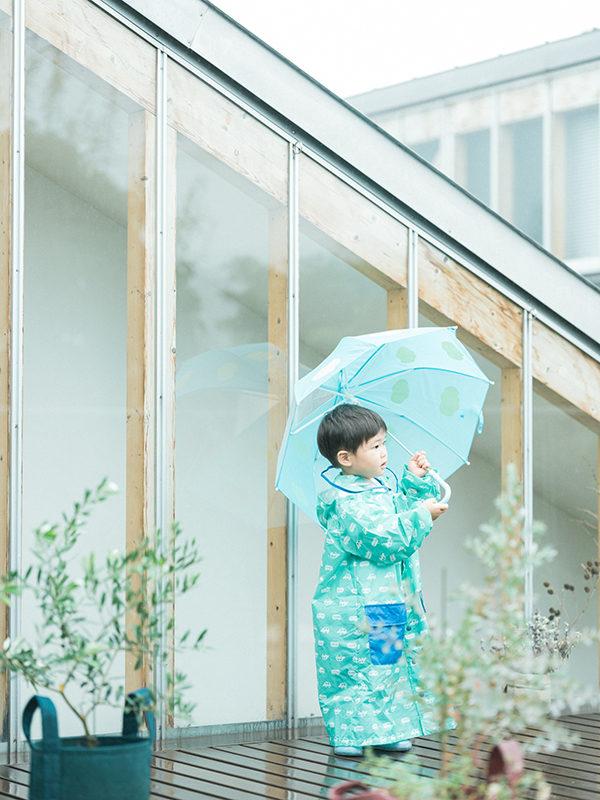 いっくん、2歳バースデー!雨の中