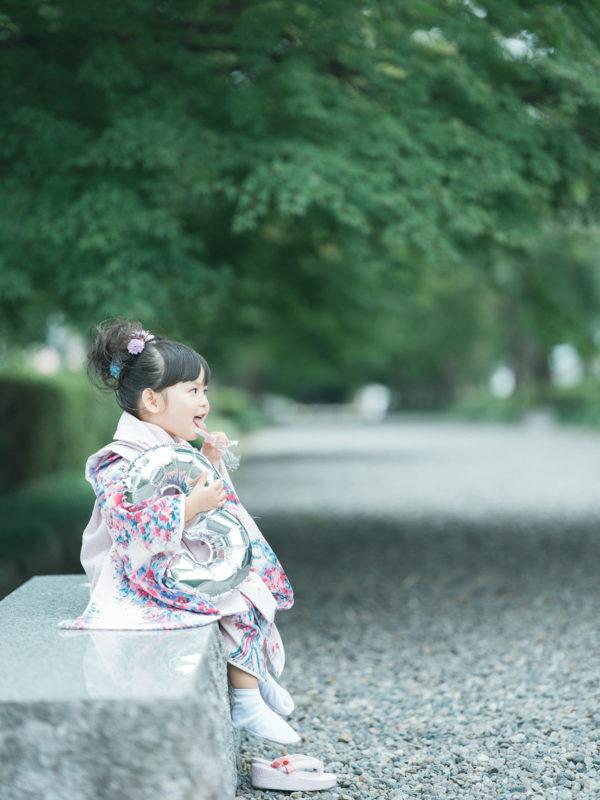 那須乃木神社、3歳七五三、うららちゃん!千歳飴