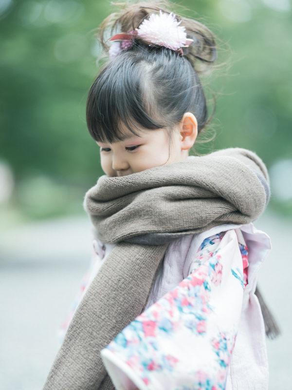 那須乃木神社、3歳七五三、うららちゃん!お洒落