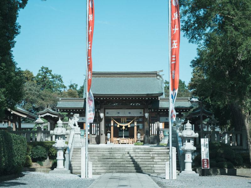 白鷺神社、3歳七五三、ふみちゃん!