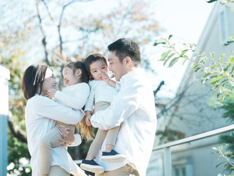 バースデーフォト、ちはなちゃん、たすくくん!家族写真
