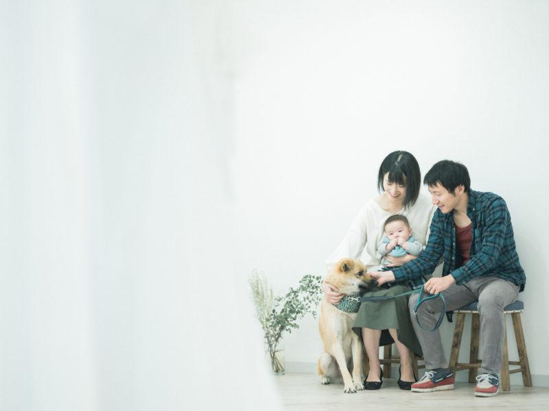 たくちゃんファミリーフォト、家族写真
