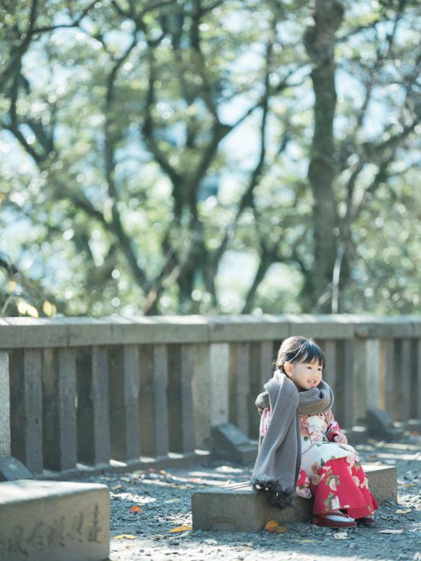 宇都宮二荒山神社、出張撮影、わかちゃん!3歳七五三、ストール