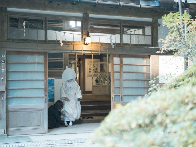 日光二荒山神社、和装、結婚式!社務所