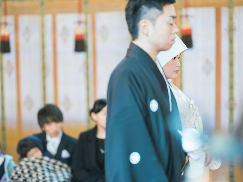 日光二荒山神社、和装、結婚式!