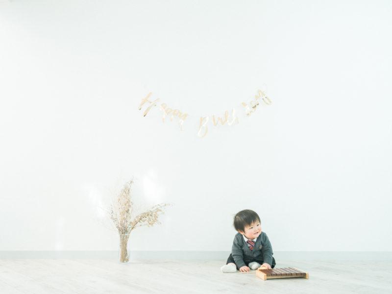 1歳バースデーフォト、こうきくん!ガーランド