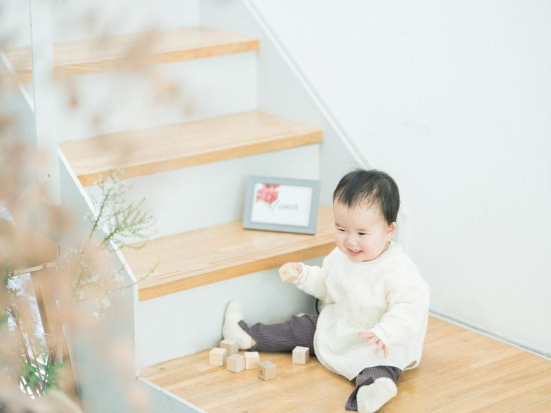 1歳バースデーフォト、ゆなちゃん!