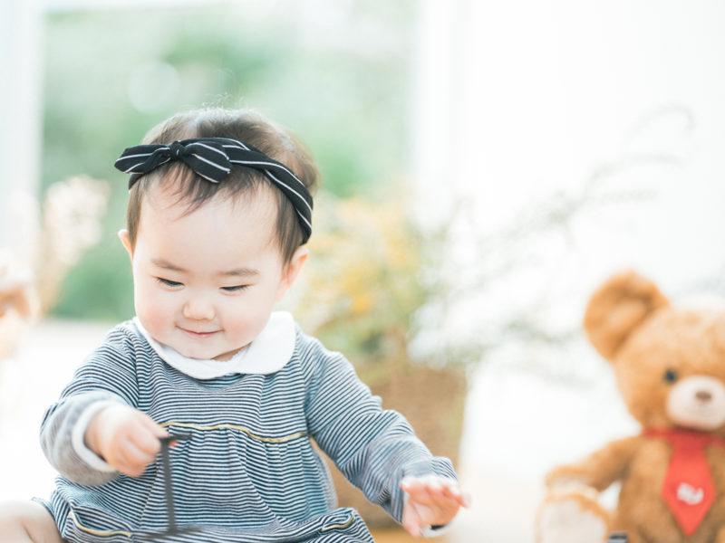 1歳バースデーフォト、えまちゃん!