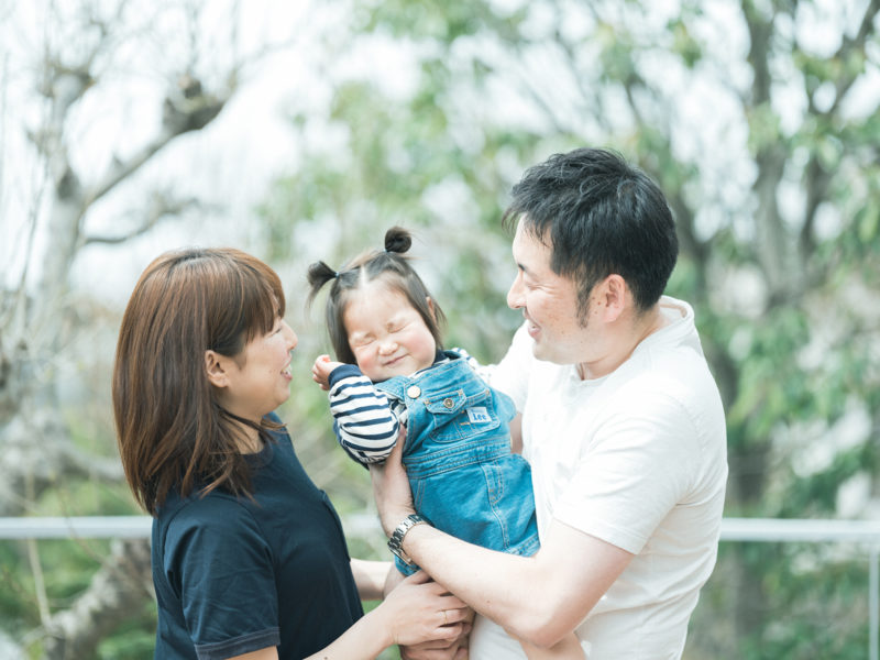 バースデーフォト、ひなちゃん!家族写真