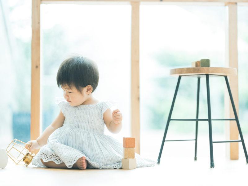 1歳バースデーフォト、しのちゃん!