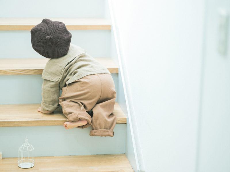 1歳バースデーフォト、こうしろうくん!後ろ姿