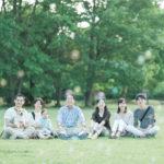 出張ロケーションフォト、たっくん、家族写真!おじいちゃん、おばあちゃんと、みんなで。ナチュラルに家族写真
