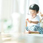 3歳バースデーフォト、あゆむくん!お絵かき、色鉛筆