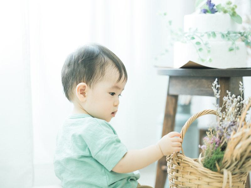 1歳バースデーフォト、こうちゃん!
