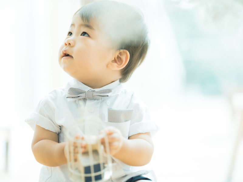 1歳バースデーフォト、たかきくん!
