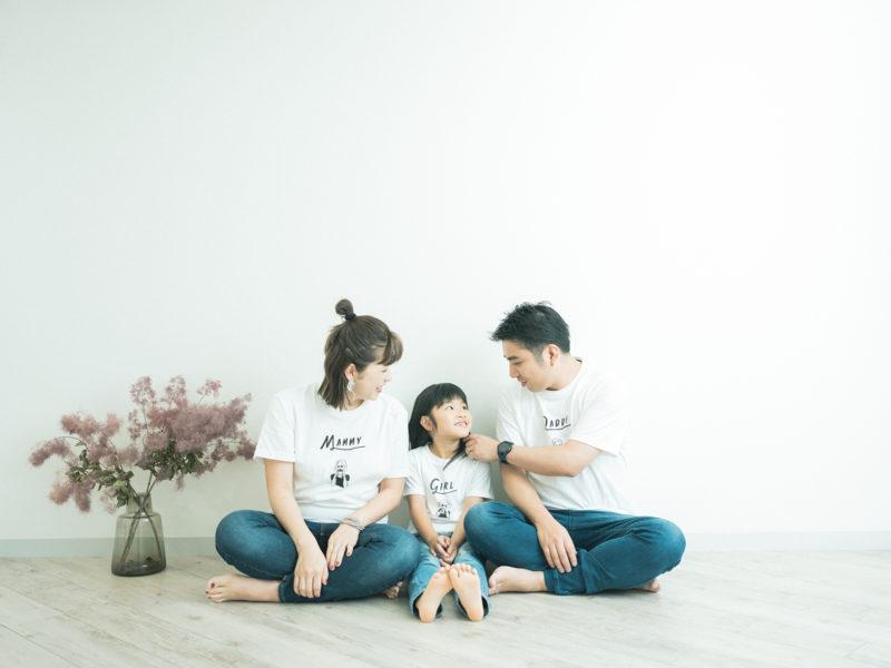 マタニティフォト、家族写真