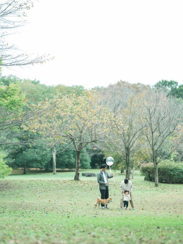 公園ロケーション撮影