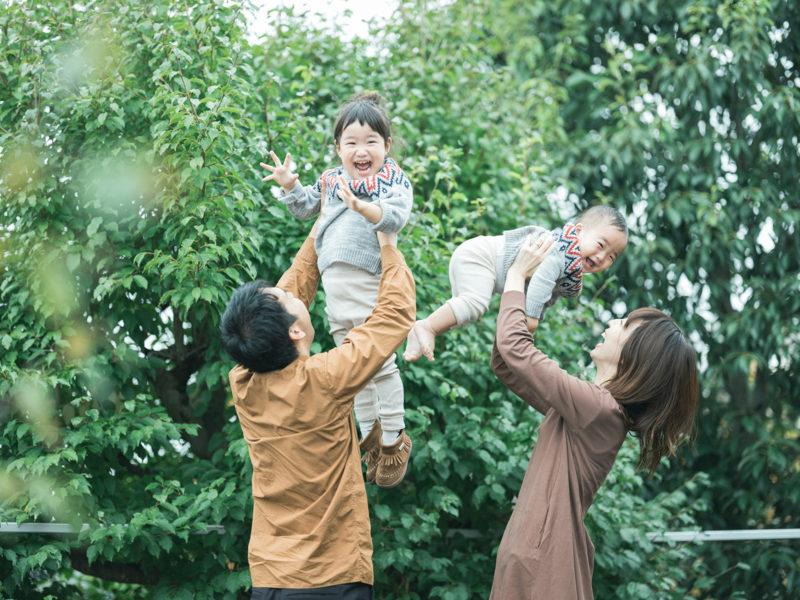 1歳バースデーフォト、かんすけくん!家族写真