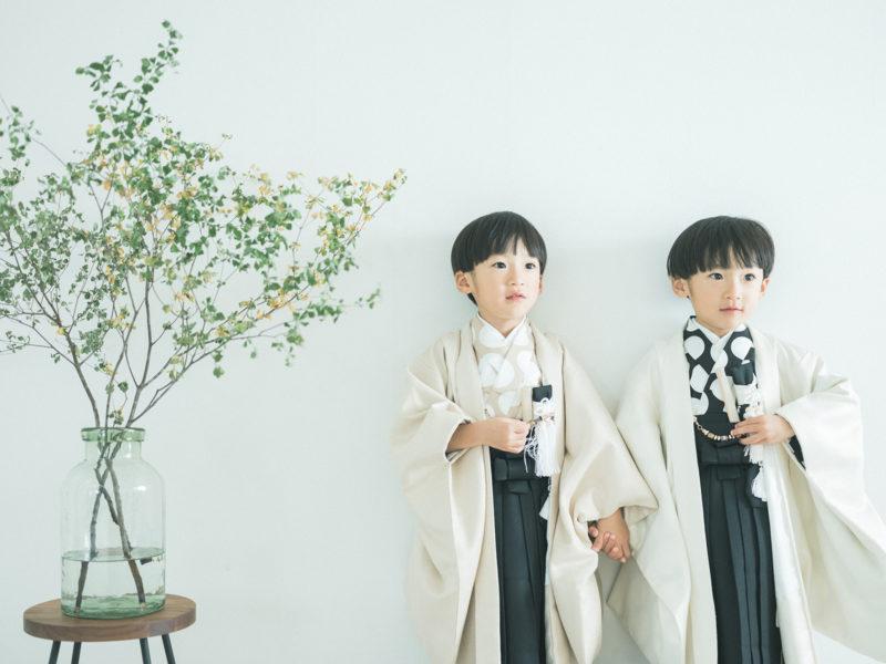 5歳、双子の七五三!