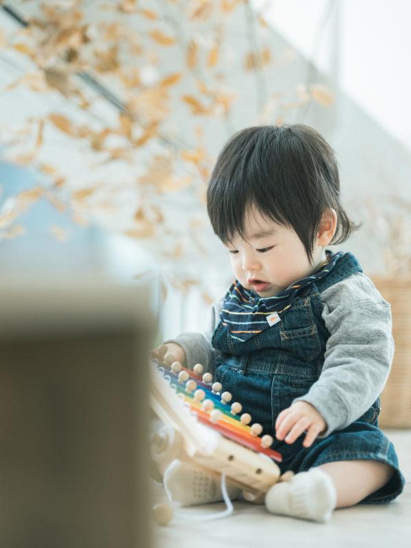1歳バースデーフォト、ゆうちゃん!