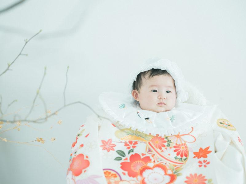 お宮参り、100日祝い!なぎちゃん!産着