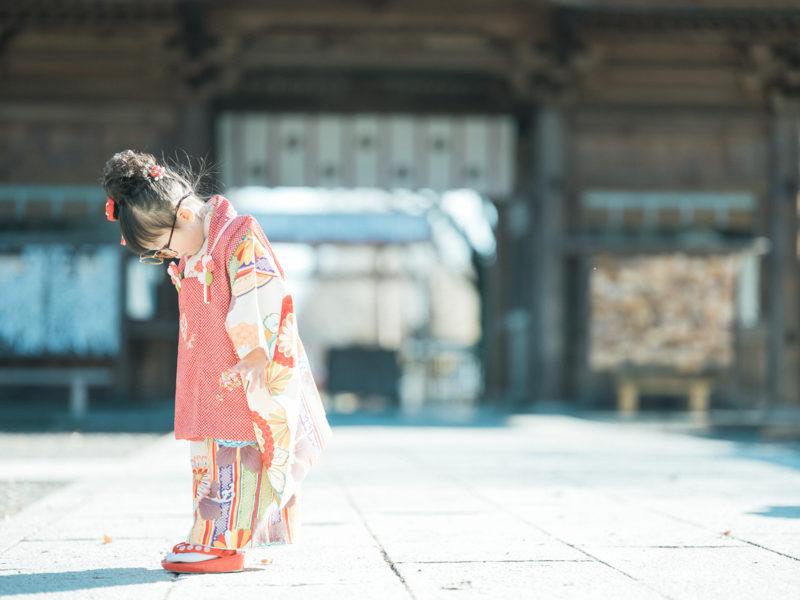 小山市、須賀神社、3歳七五三、すーちゃん!お洒落眼鏡