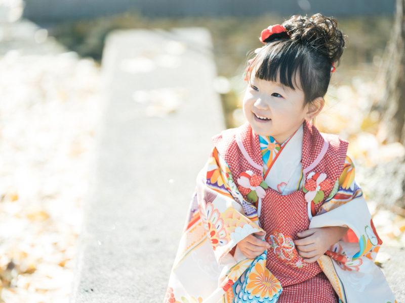 小山市、須賀神社、3歳七五三、すーちゃん!紅葉、銀杏