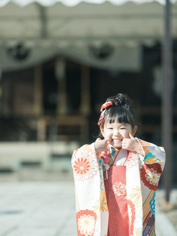小山市、須賀神社、3歳七五三、すーちゃん!