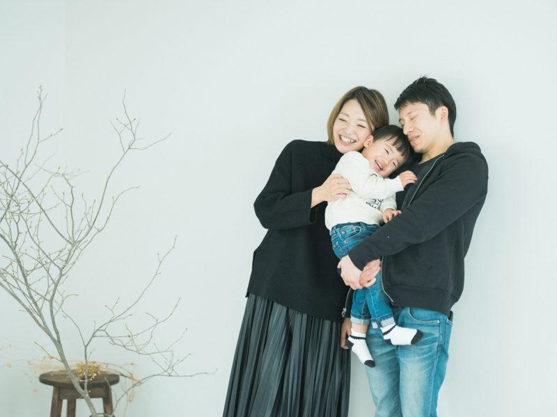 こうちゃん、ファミリーフォト!家族写真