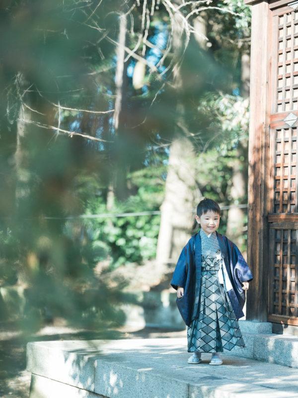 栃木県護国神社、5歳七五三、しゅんくん!