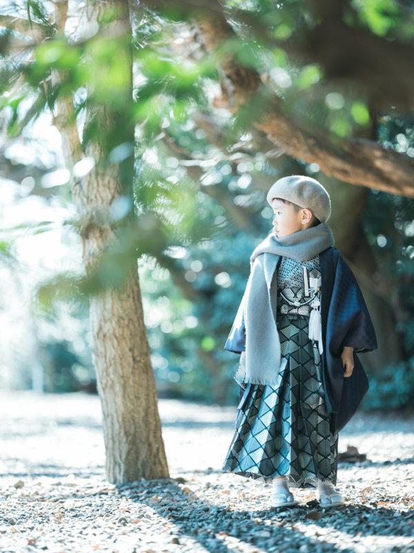 栃木県護国神社、5歳七五三、しゅんくん!お洒落さん