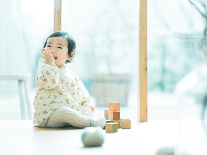 1歳バースデーフォト、ふゆちゃん!