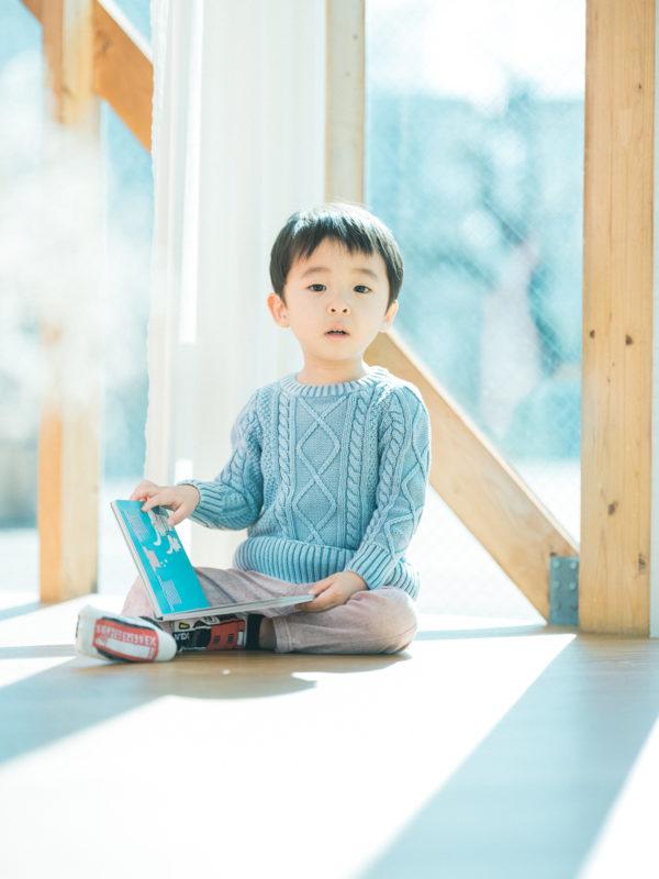 3歳バースデーフォト!絵本