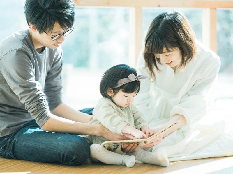 1歳バースデーフォト、つむぎちゃん!家族写真
