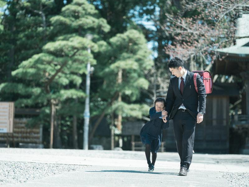 宇都宮二荒山神社、お宮参り!パパとまやちゃん