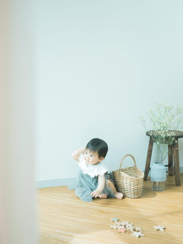 1歳バースデーフォト、かのんちゃん!