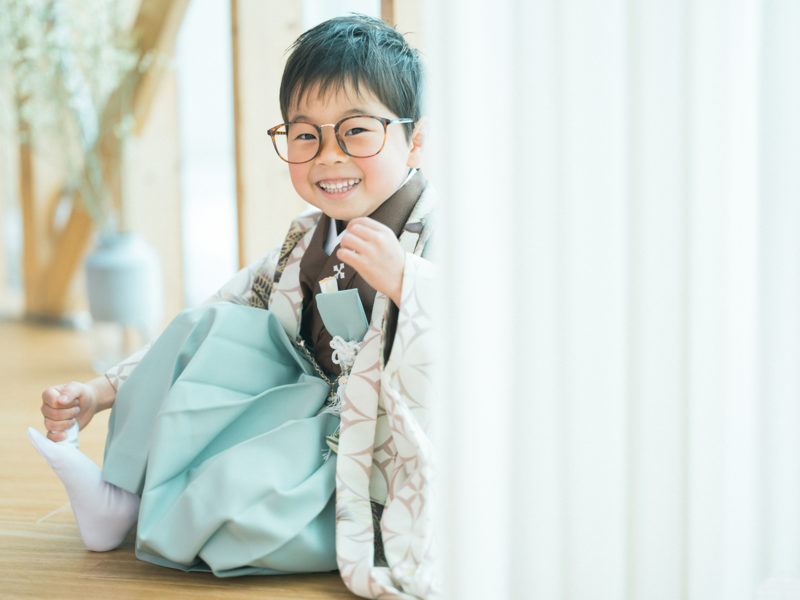 5歳七五三!おしゃれ眼鏡